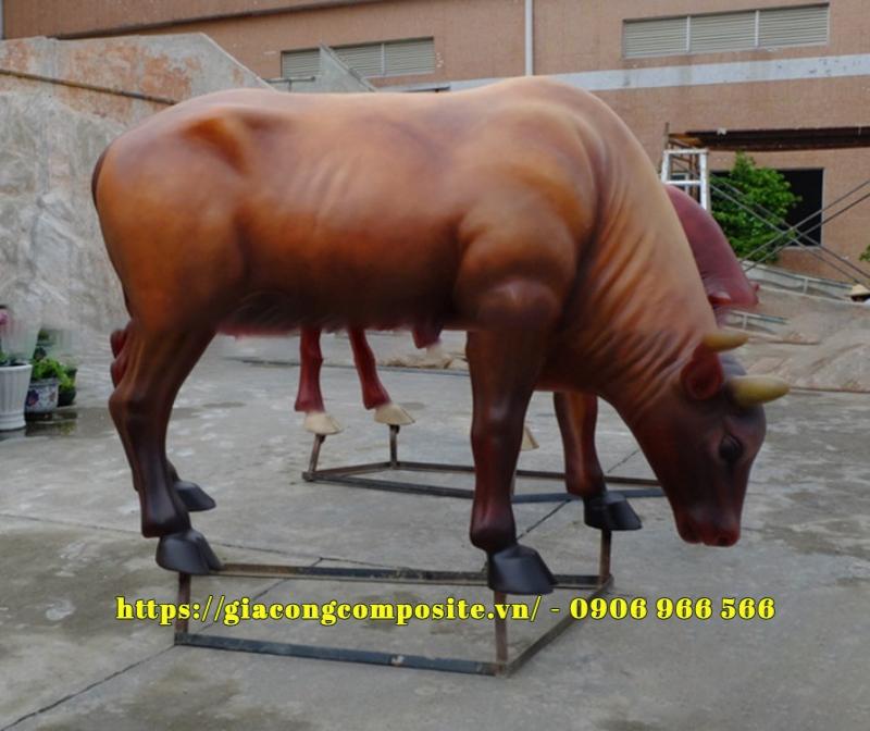 mô hình đấu bò composite